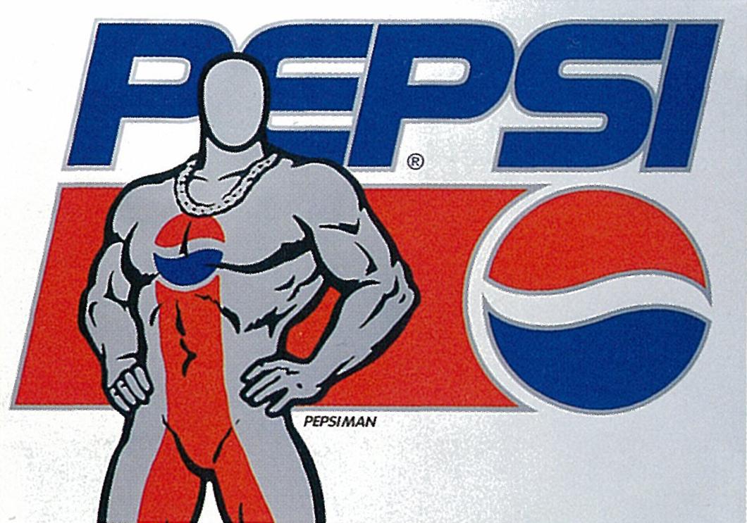PEPSI Man,ペプシマン,design-index